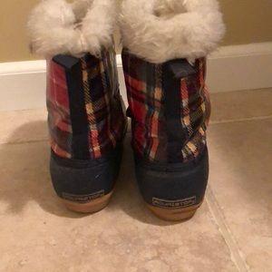 AquaStop Shoes - Short Fur Lined Rain Boots